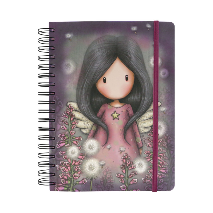 Gorjuss - Large Wiro-Bound Journal - Little Wings