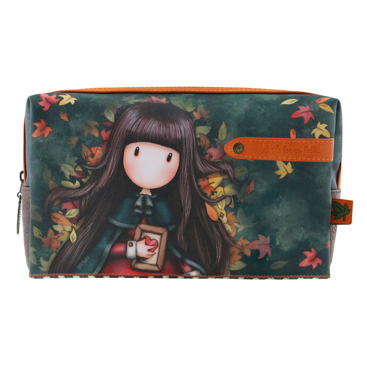 Gorjuss - Large Accessory Case - Autumn Leaves