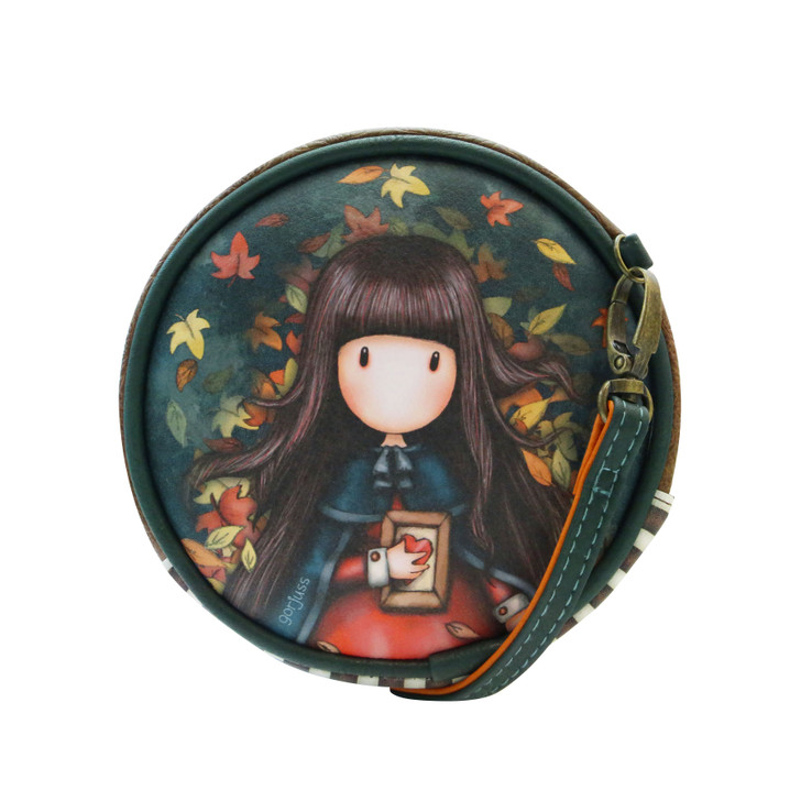 Gorjuss - Mini Round Bag - Autumn Leaves