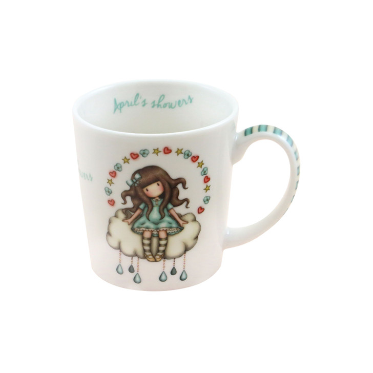 Gorjuss - Small Mug In A Gift Box - April Showers