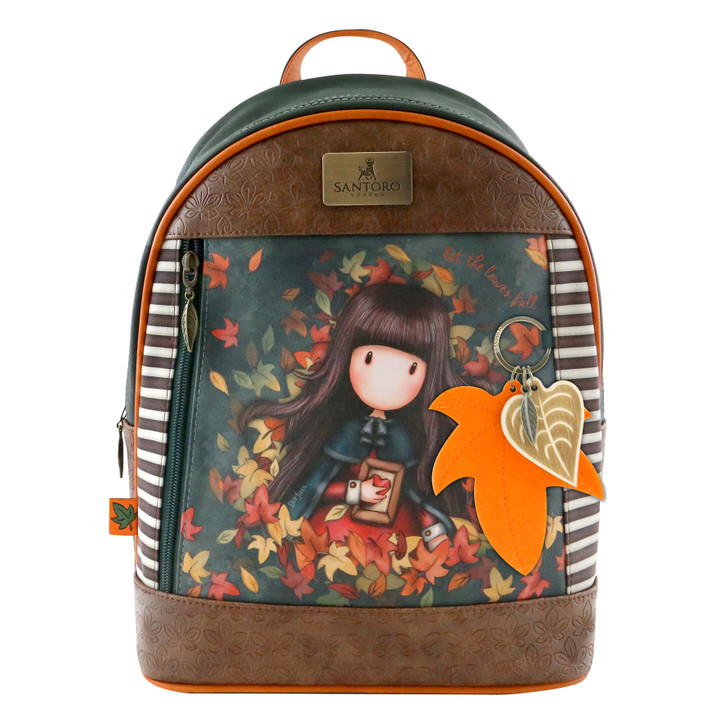 Gorjuss - Large Rucksack - Autumn Leaves