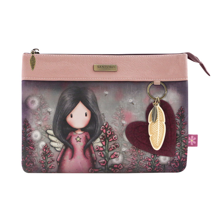 Gorjuss - Double Pouch Cross Body Bag - Little Wings