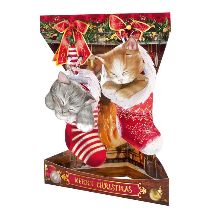 Swing Cards - Christmas Kittens