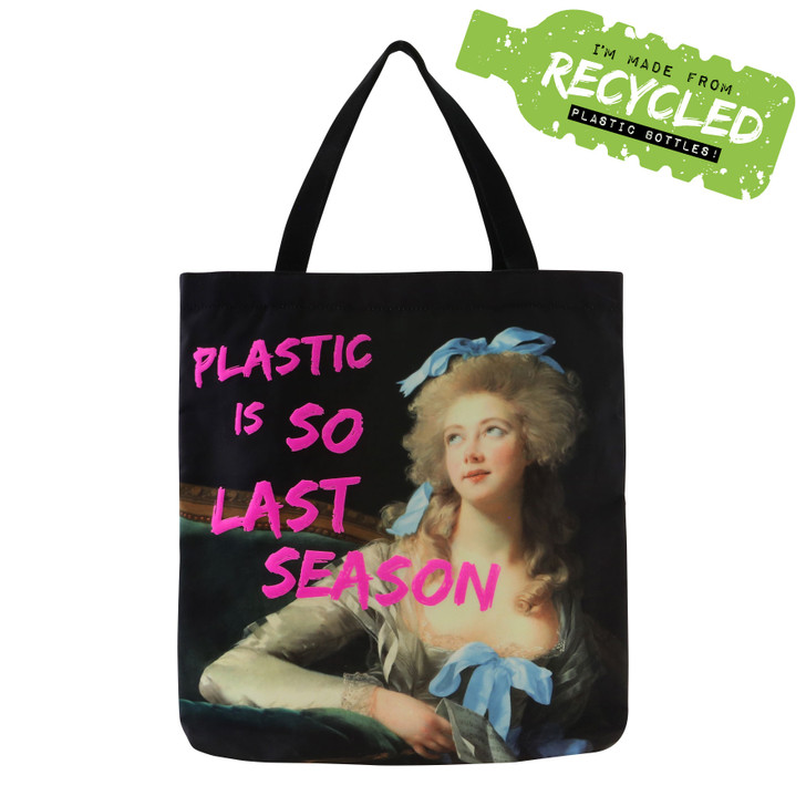 Masterpieces - Tote Bag - Plastic Is So Last Season