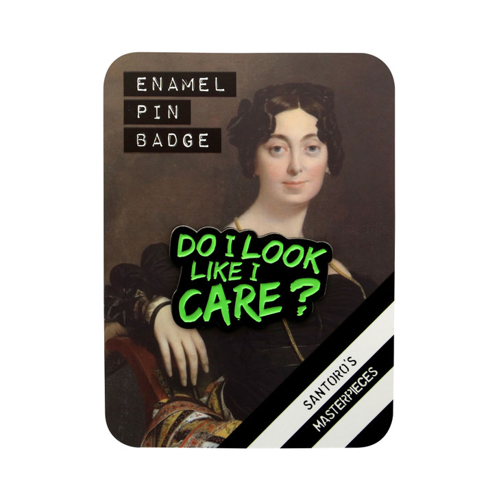 Masterpieces - Enamel Pin - Do I Look Like I Care?