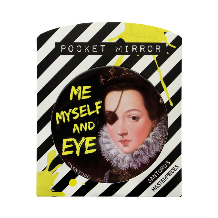 Masterpieces - Large Pocket Mirror - Me Myself And Eye