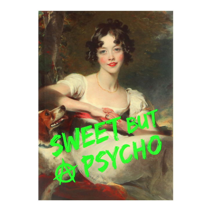 Masterpieces - A5 Notebook - Sweet But Psycho