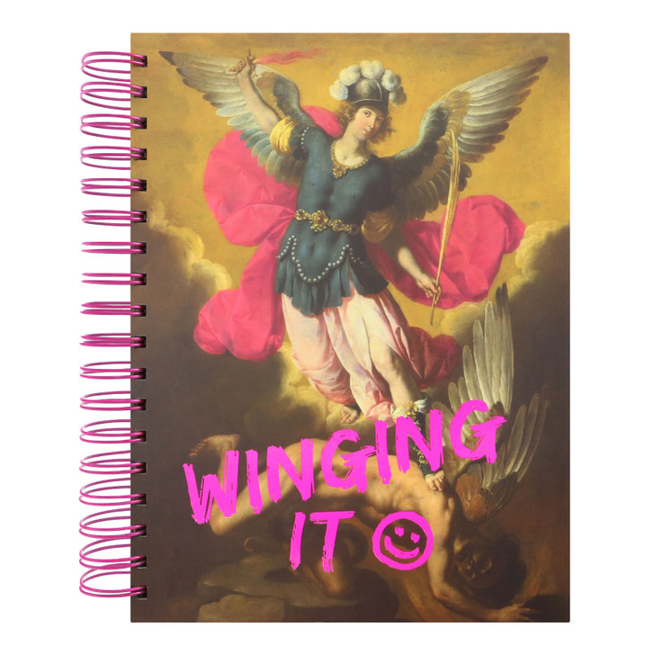 Masterpieces - Large Wirobound Notebook - Winging It