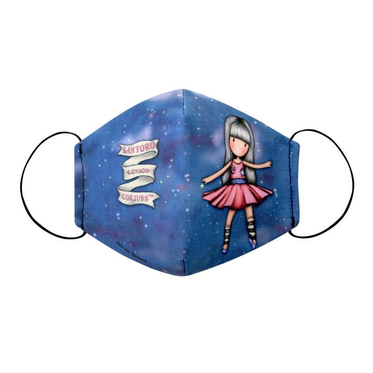 Gorjuss - Children's Face Mask - Dancing Among The Stars