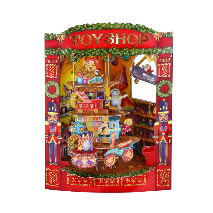 Swing Cards - Christmas Toy Shop