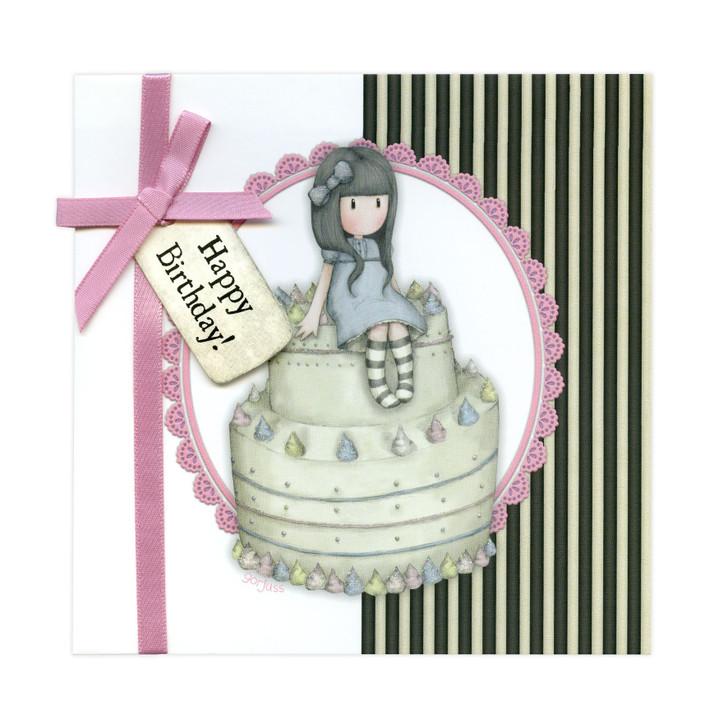 Gorjuss Greetings Card - Happy Birthday!