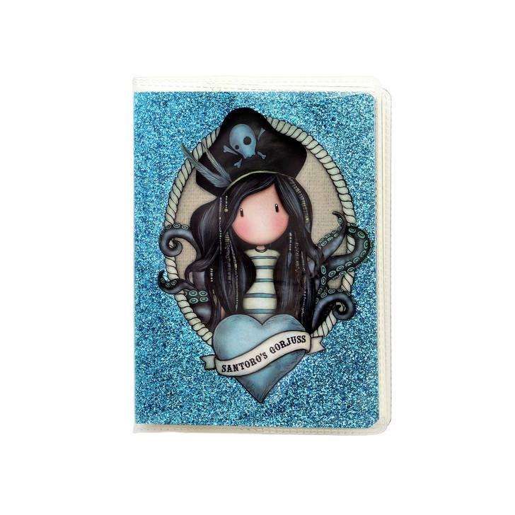 Gorjuss - Mini Glitter Notebook  - Black Pearl:124