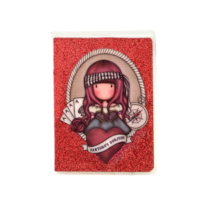 Gorjuss - Mini Glitter Notebook  - Mary Rose:130