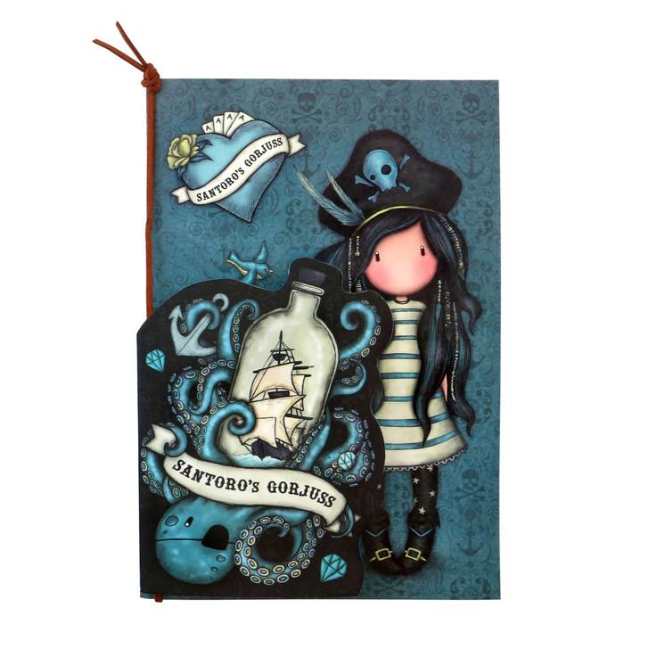 Gorjuss - Set of 2 Stitched Notebooks - Black Pearl:116
