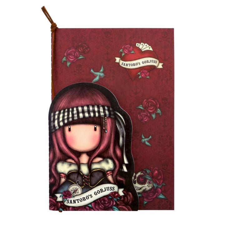 Gorjuss - Set of 2 Stitched Notebooks - Mary Rose:111