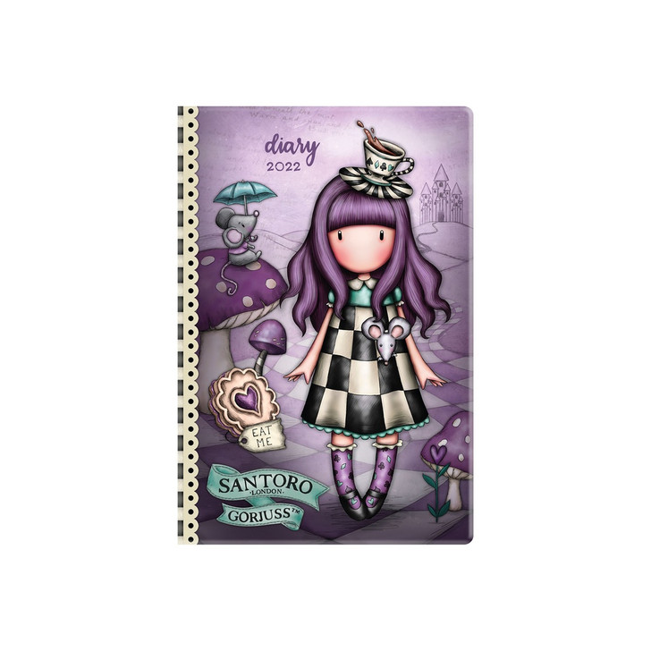 Gorjuss - 2022 Pocket Diary - A Little More Tea:4570