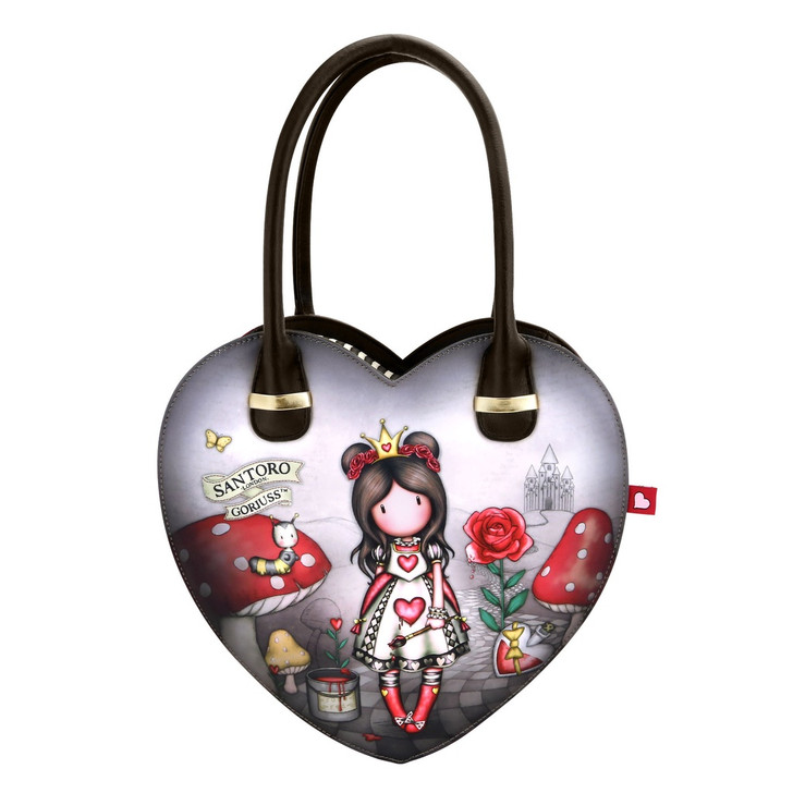 Gorjuss - Heart Shaped Handbag - Finding My Way :4440