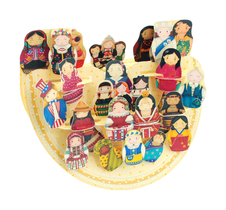Popnrock - International Babushka Dolls