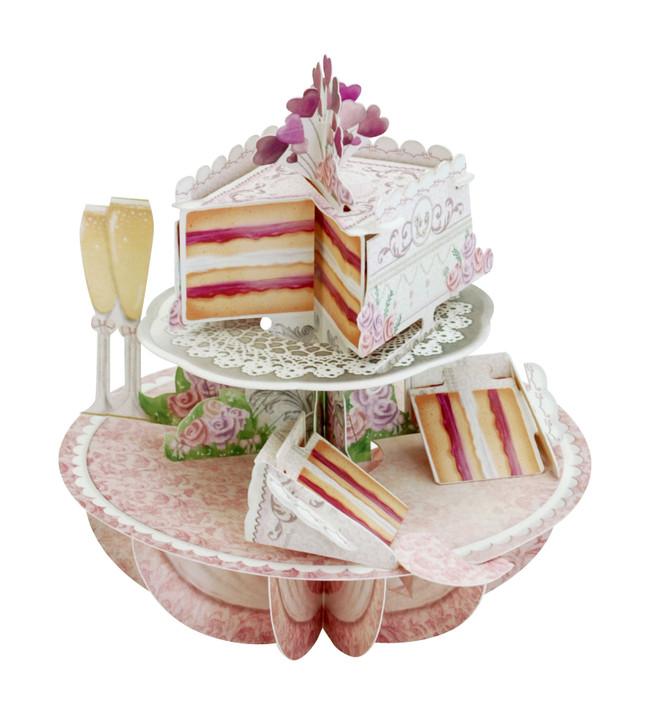 Pirouettes - Wedding Cake