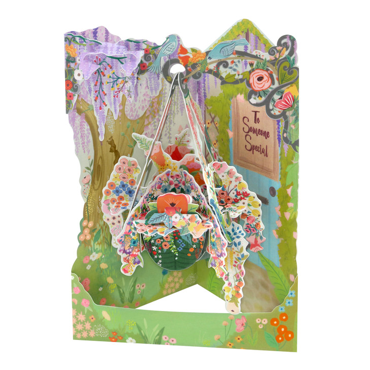 Swing Cards - Hanging Basket