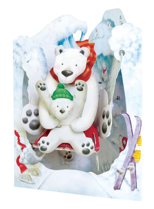 Swing Cards - Polar Bears