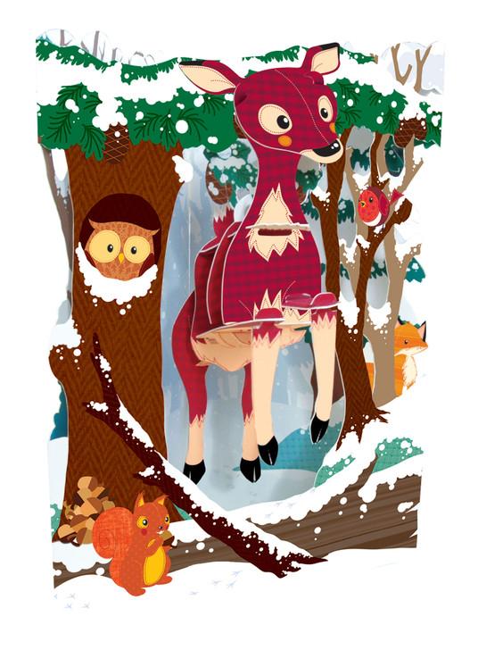 Swing Cards - Deer