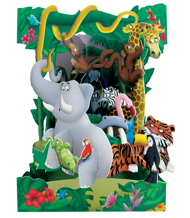 Swing Cards - Jungle Animals