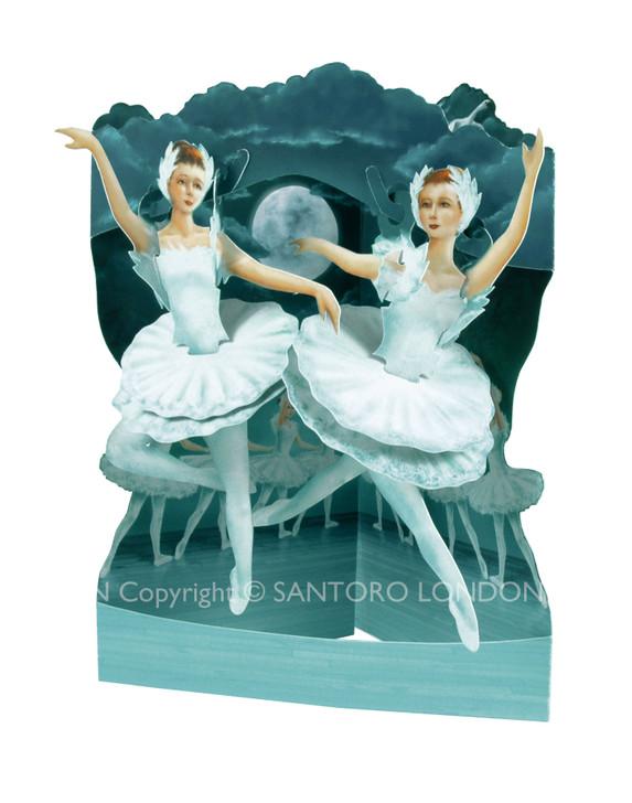 Swing Cards - Ballet-Swan Lake