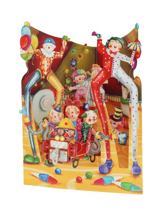 Swing Cards - Big Top Clowns