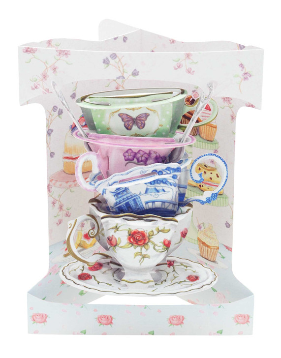 Swing Cards - Stack Of Teacups