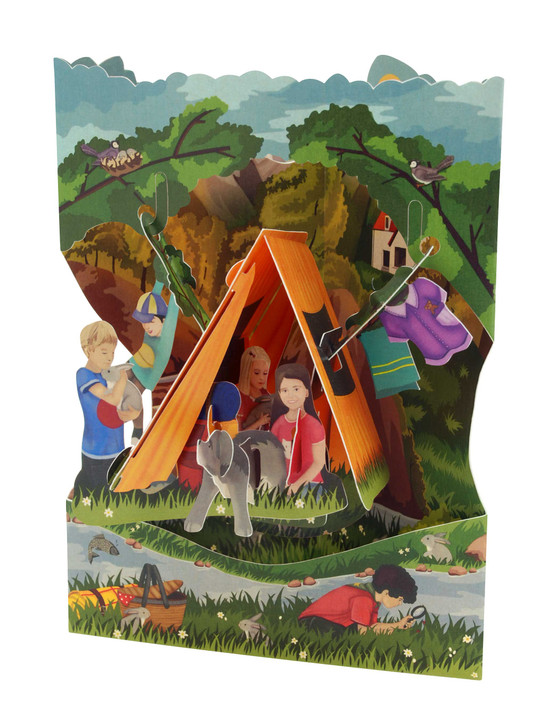 Swing Cards - Camping