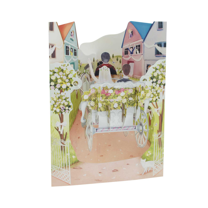 Swing Cards - Wedding Carriage