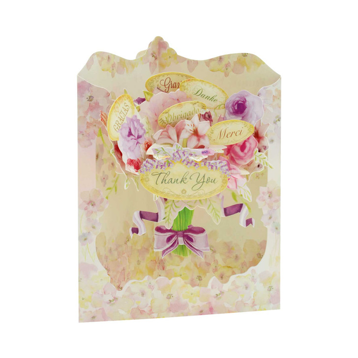 Swing Cards - Floral Thank You