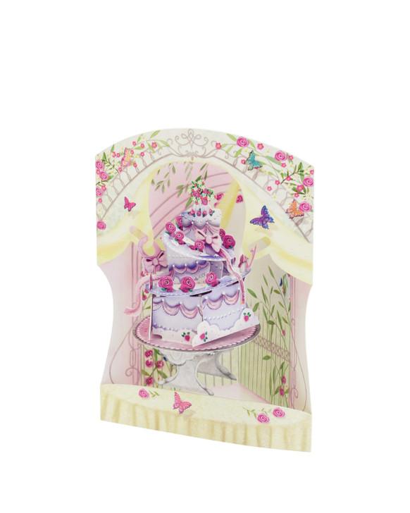 Swing Cards - Celebration Cake