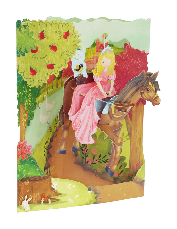 Swing Cards - Princess On A Horse