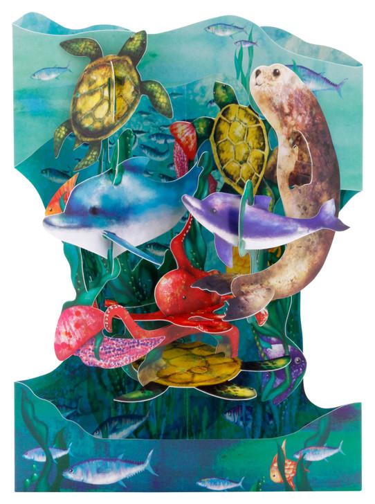 Swing Cards - Underwater World