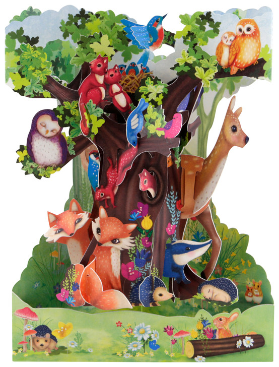 Swing Cards - Forest Animals