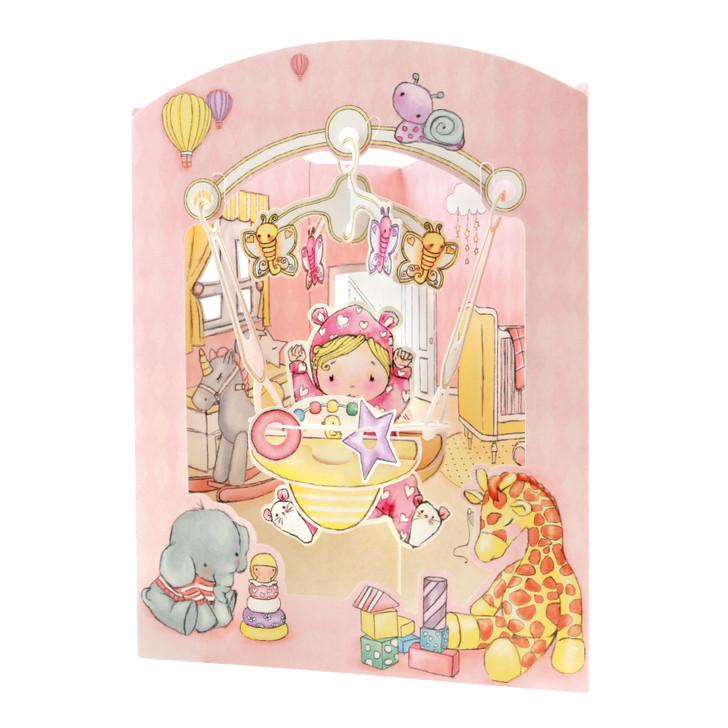 Swing Cards - Baby Girl