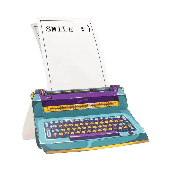 Typewriter Card - :)