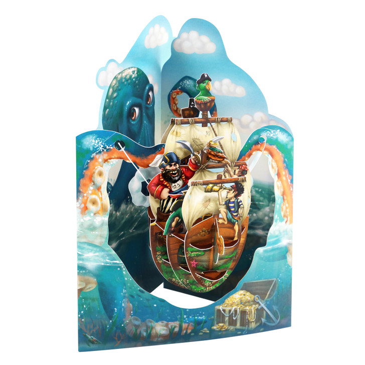 Swing Cards - Pirate Ship #2