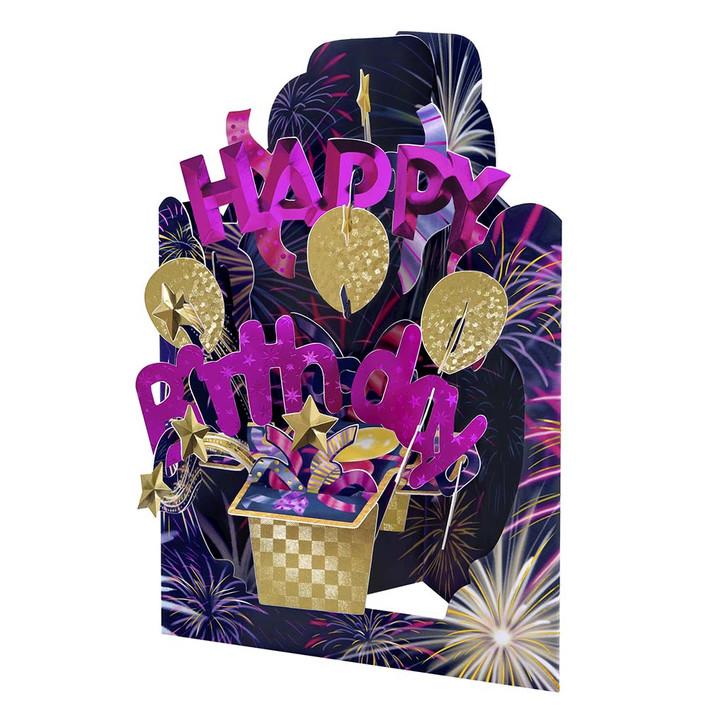 Swing Cards - Happy Birthday