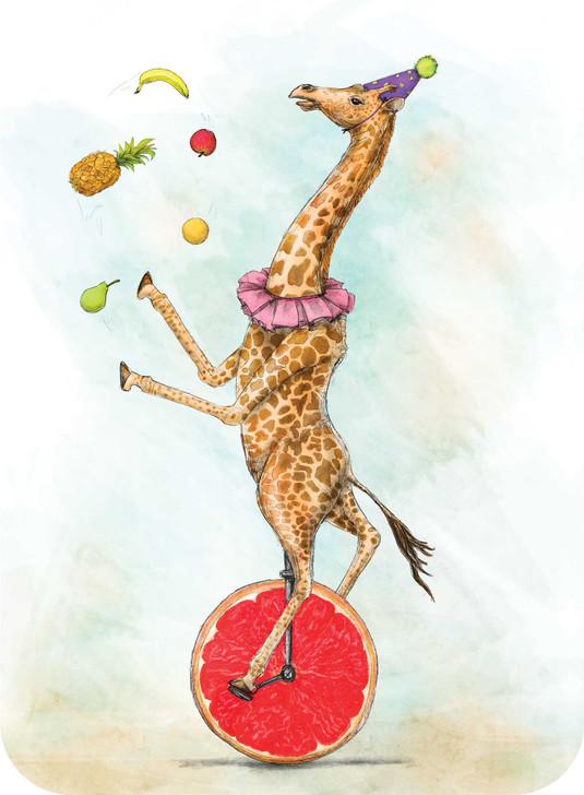Eclectic Selection - Giraffe Unicycle