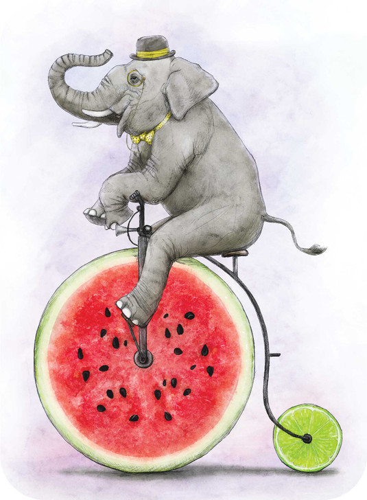 Eclectic Selection - Elephant Penny Farthing