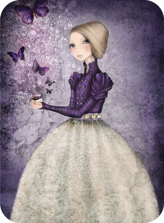 Eclectic Selection - Amethyst Butterfly