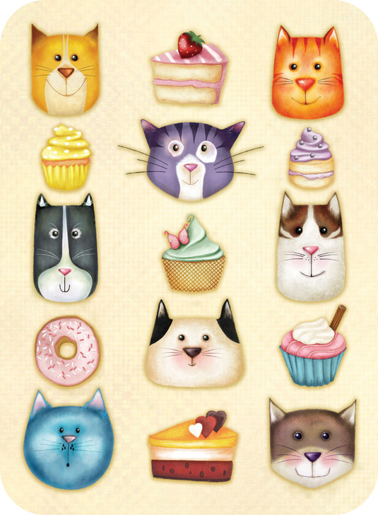 Eclectic Selection - Cat Cakes