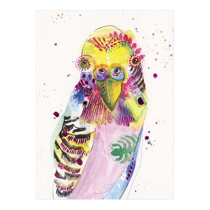 Eclectic Selection - Watercolour Cockatiel