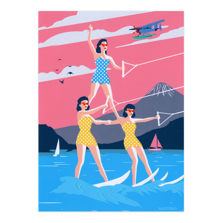 First Class Lounge - Waterskiing Trio