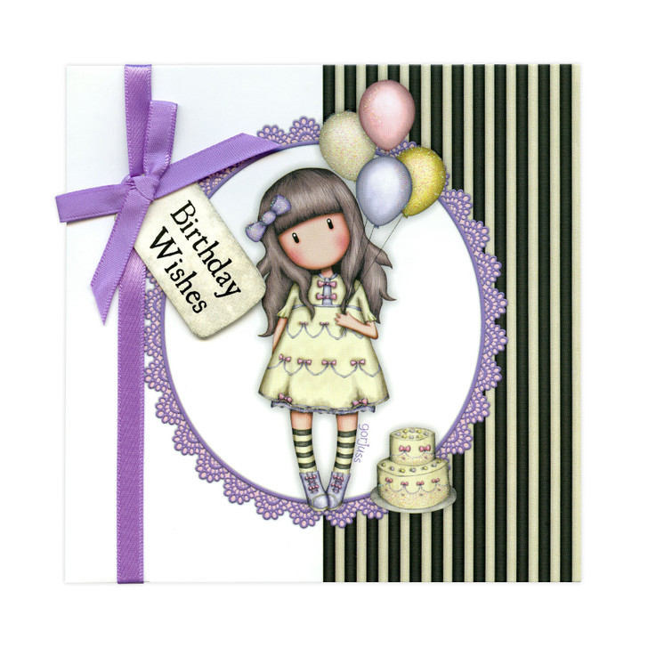 Gorjuss Greetings Card - Birthday Wishes