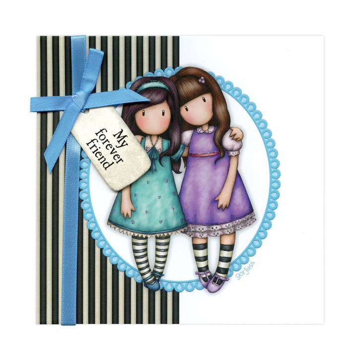 Gorjuss Greetings Card - My Forever Friend