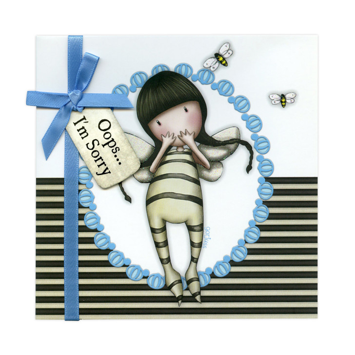 Gorjuss Greetings Card - Oops... I'm Sorry